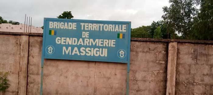 Dioila : la gendarmerie de Massigui attaqué