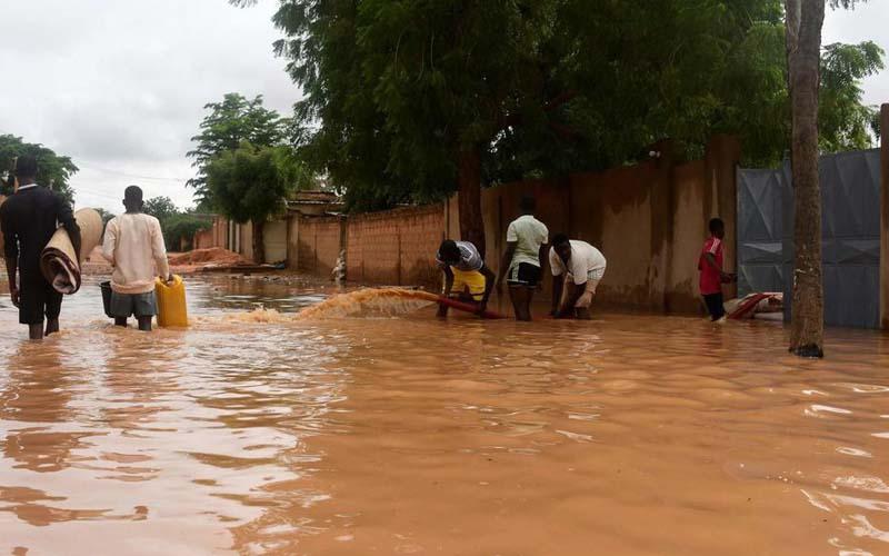 Niger : plusieurs morts et des dégâts matériels suite à de fortes pluies
