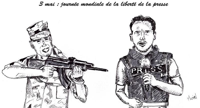 Liberté de presse : «En 2020, 50 journalistes ont été tués» dans le monde (RSF)