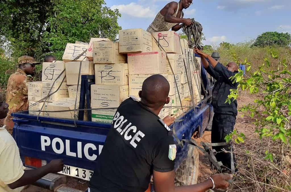 Lutte contre le terrorisme : une grande quantité d'armes saisit par Interpol au sahel