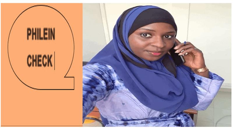 #PhileinCheck : Oui, Kadidiatou Haïdara qui a démissionné du CNT est bien la fille du Chérif de Banconi