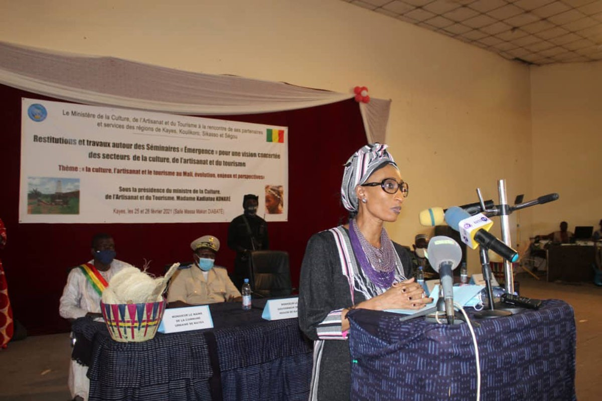 2e phase du séminaire «émergence» : à Kayes, Kadiatou Konaré invite à une synergie d'action