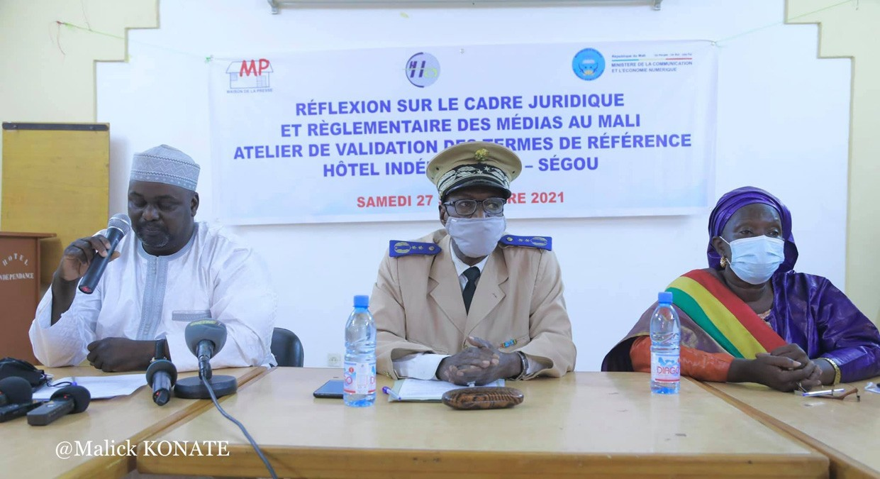 Mali : doter la presse d'un cadre juridique et réglementaire adapté, la Maison de la presse à l'œuvre