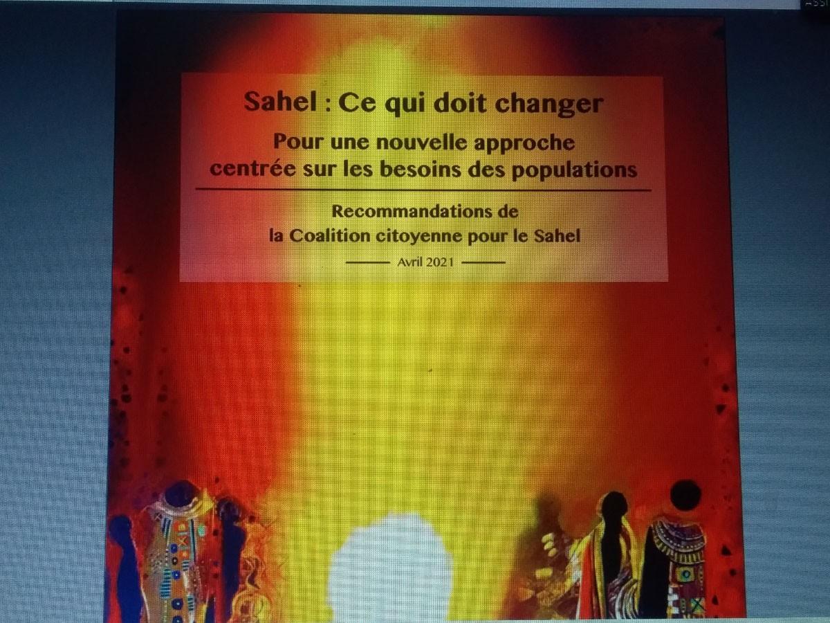 Crise sécuritaire : la société civile présente ses recommandations pour une nouvelle approche au Sahel