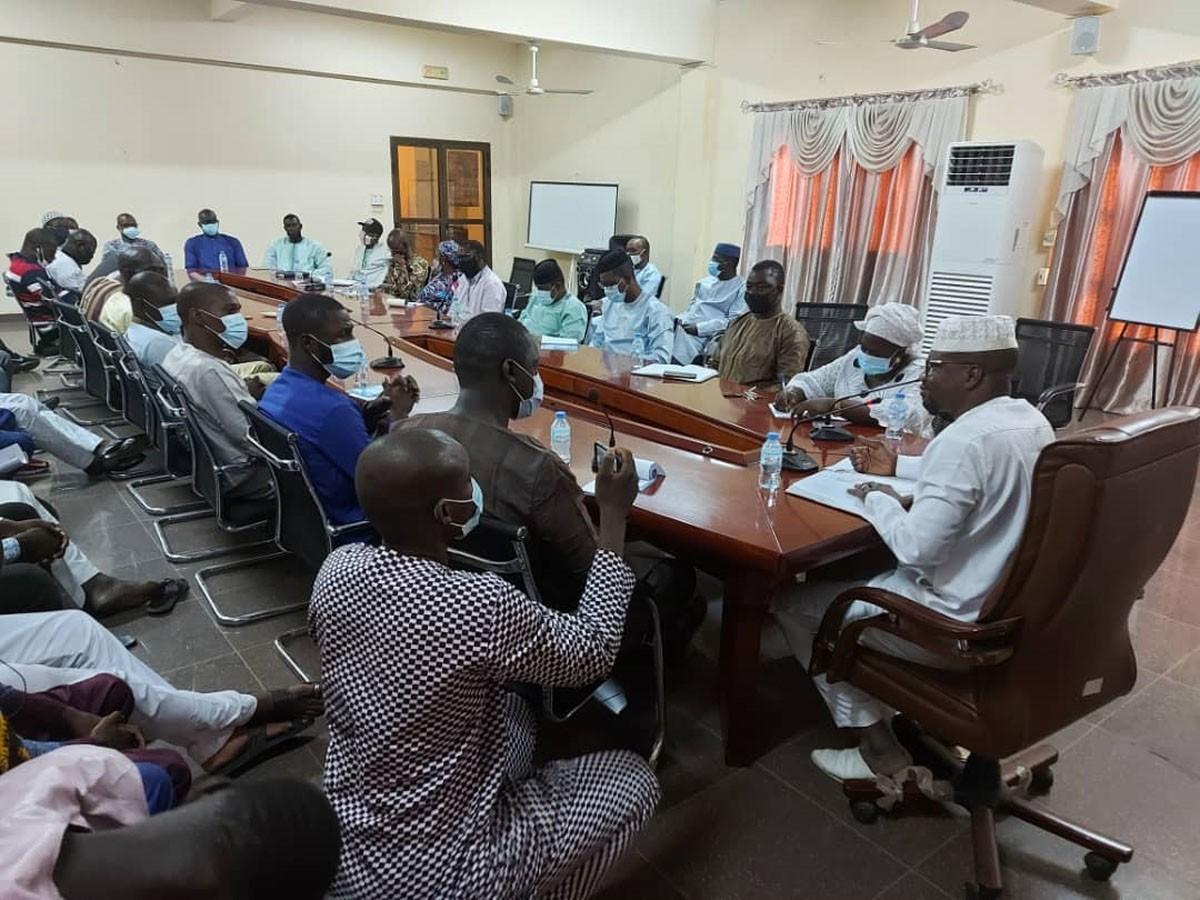 Mali : le directeur général du CENOU reçoit le nouveau bureau de coordination de l'AEEM
