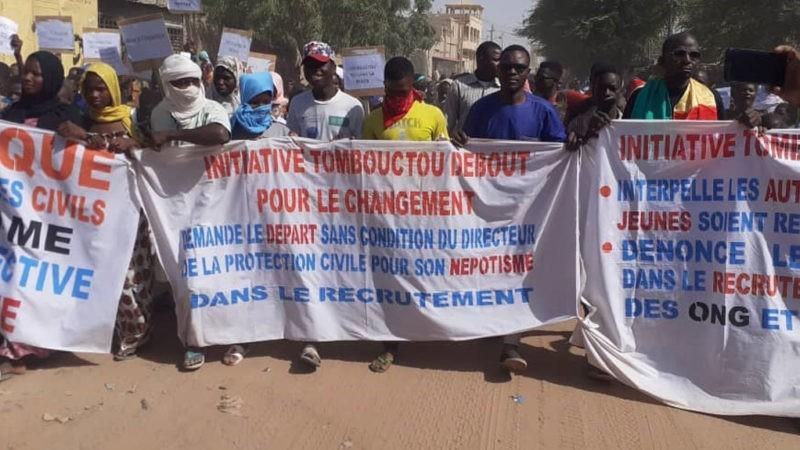 Mali : la jeunesse de Tombouctou dénonce l'insécurité et certaines «injustices»