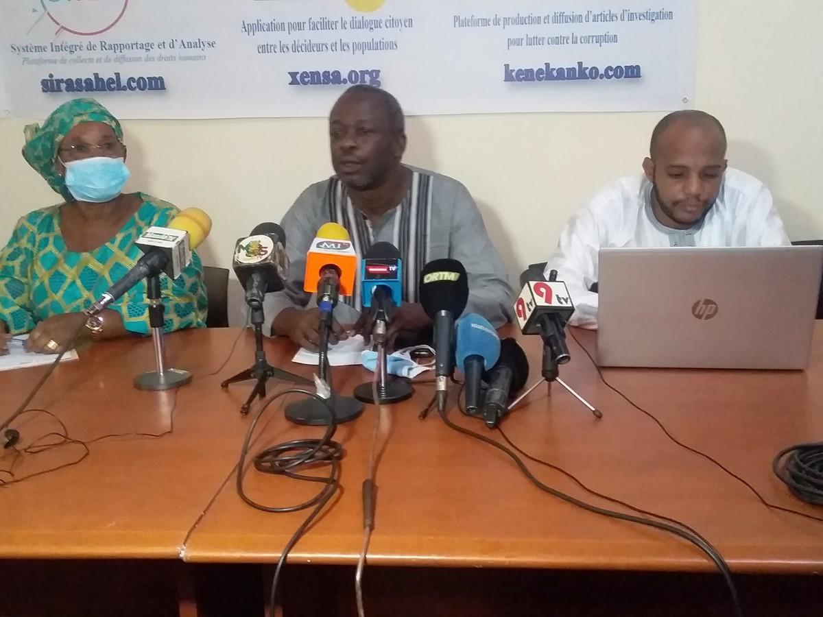 Mali : SIRA et Xensa, deux rapports sur la situation des droits humains et la transition