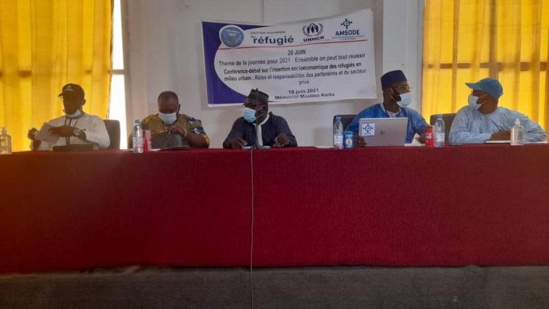 En débat, l'insertion socio-économique des réfugiés au Mali