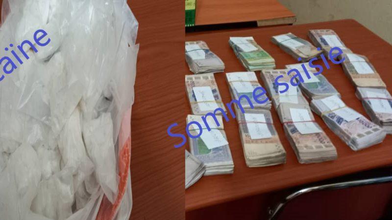 Lutte anti-drogue : l'OCS saisit une importante quantité de cocaïne d'une valeur de 46 millions de FCFA